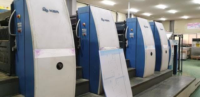 KBA Rapida 105-4+SW-2-P40