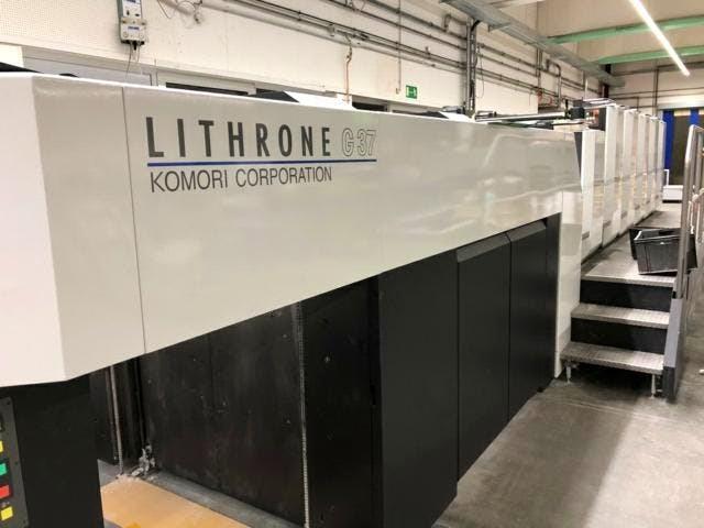 Show details for Komori GL-537-HC