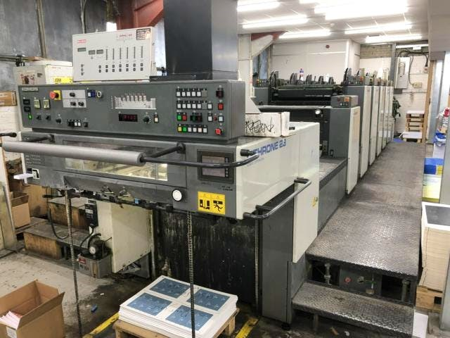 Show details for Komori Lithrone L528+C