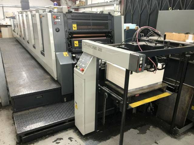 Show details for Komori Lithrone L628+C
