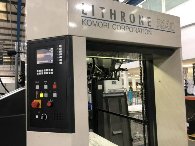Komori LSX-640+Coater Hybrid Press