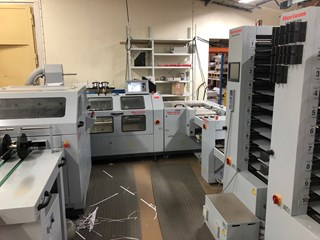 Horizon Stitchliner 5500+VAC-100a/m/c Zusammentragmaschine - Sammel hefter