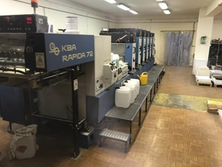KBA Rapida RA72 5+L Sheet Fed