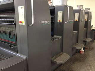 Heidelberg SM 74-4H Sheet Fed
