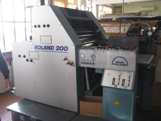 Manroland 204 Gebrauchte Bogenoffsetmaschinen