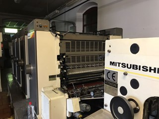Mitsubishi 1 F Sheet Fed