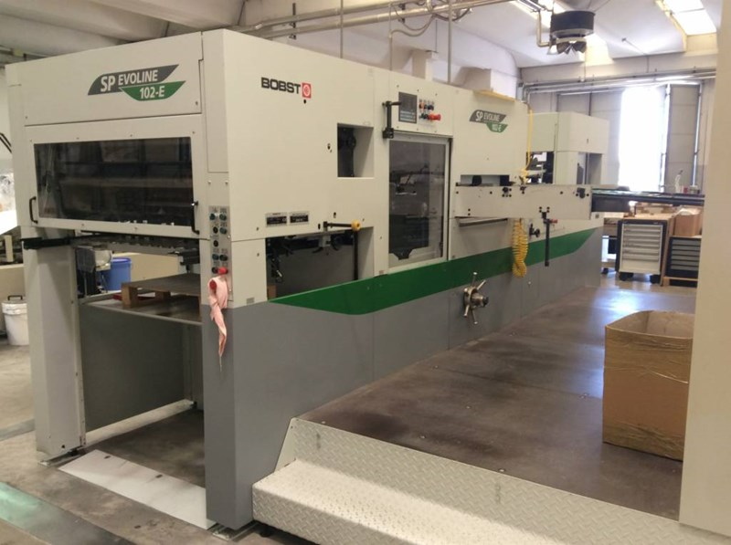 Show details for Bobst  Evoline SP 102 E