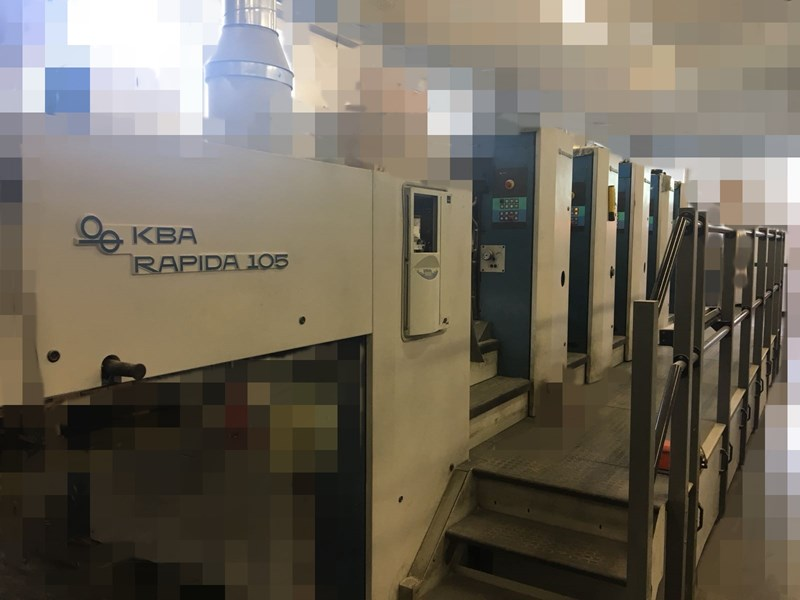 KBA Rapida 105-5 PWVA