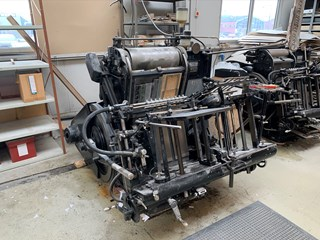 Heidelberg GT Buchdruck-Zylinder & Tiegel