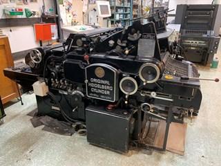 Heidelberg KSB, 40x57cm Buchdruck-Zylinder & Tiegel