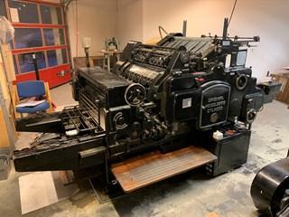 Heidelberg S-Cylinder Letterpress