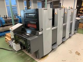 Heidelberg SM 52-4 Anicolor Plus, Nr + Perf 单张纸胶印机