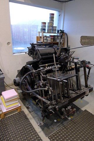 Heidelberg Tiegel Letterpress