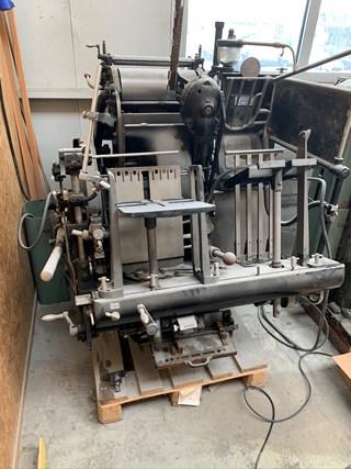 Heidelberg Tiegel nr 124456N Buchdruck-Zylinder & Tiegel