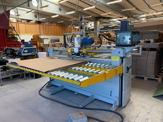 Sodeme OSCIL 4000 Stitcher/Gluer machine for Cardboard boxes Faltschachtelklebemaschine