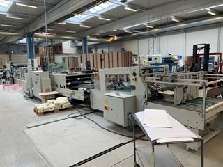 Vega Pagaso 130 Folding Gluing Machine Case Production