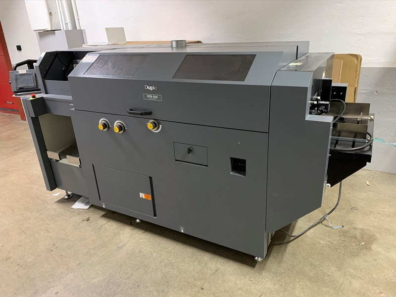 Show details for Duplo DPB-500 Perfect Binder