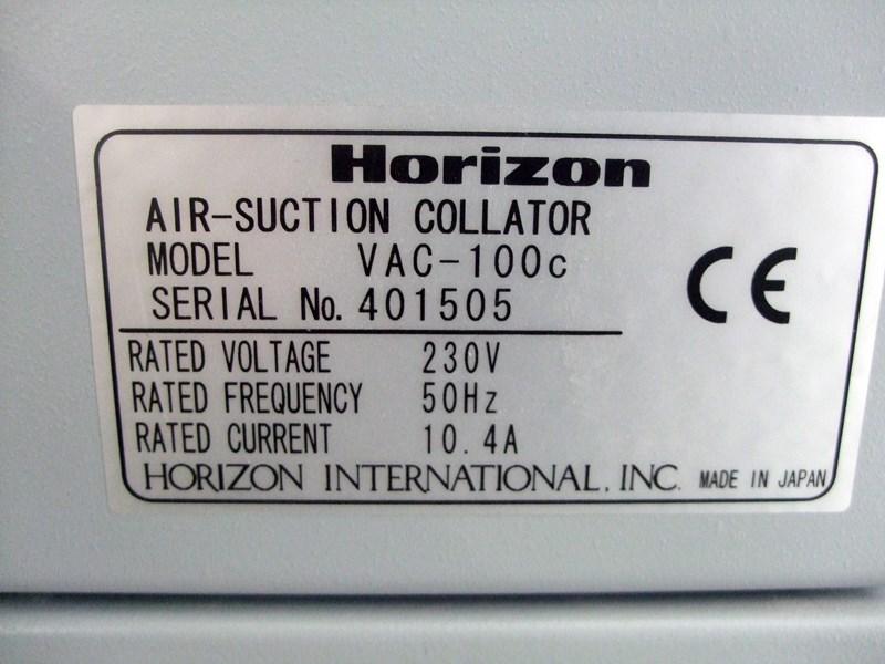 Horizon VAC-100a/SPF-20/FC-20 Booklet maker