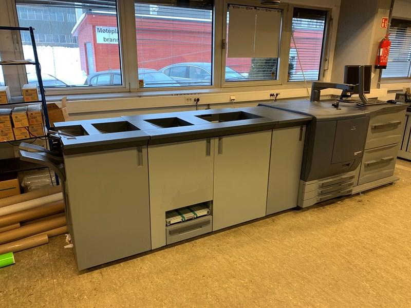 Konica Minolta bizhub PRESS C7000P Digital printing press