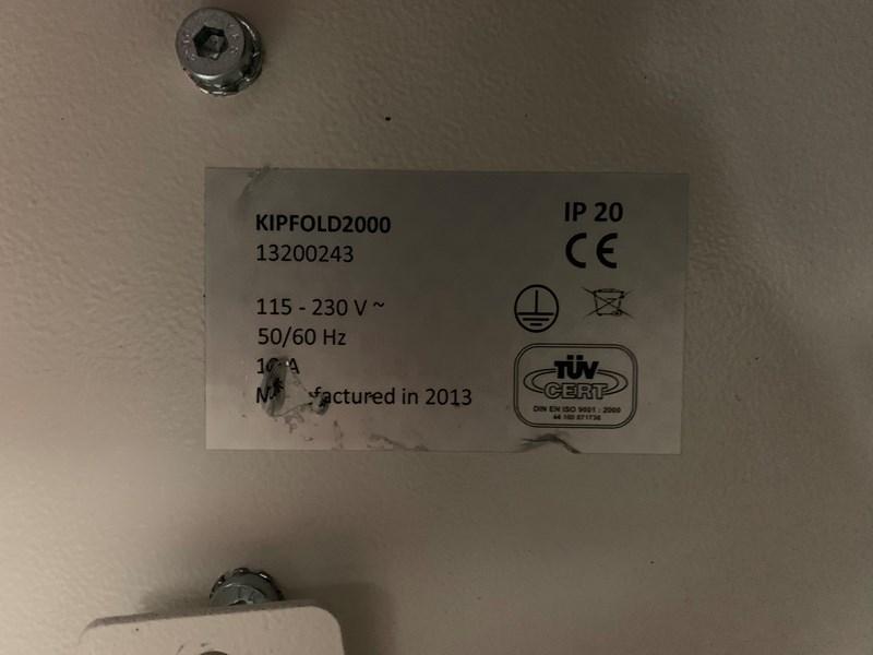Konica Minolta KIP C7800 with KIPFOLD2000