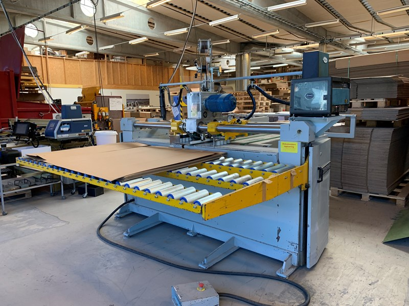 Show details for Sodeme OSCIL 4000 Stitcher/Gluer machine for Cardboard boxes