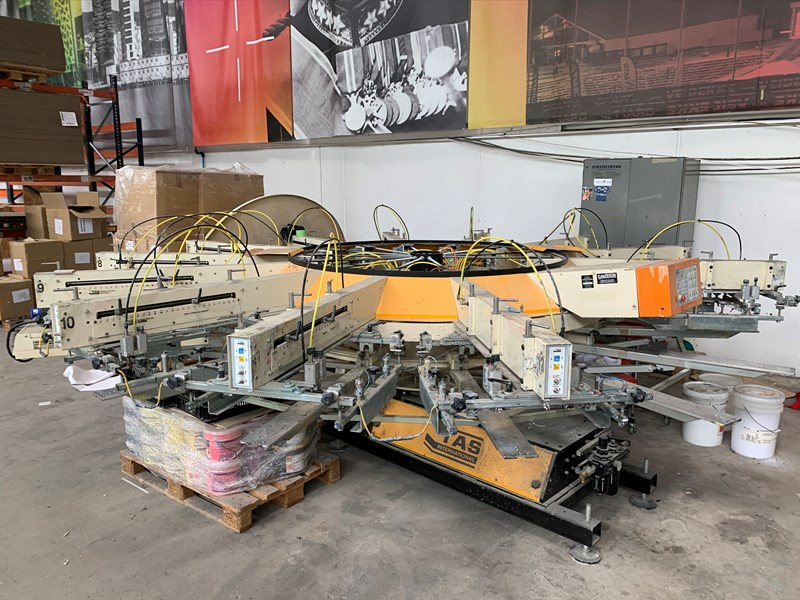 Show details for TAS Screen Printing Machines 200 Series