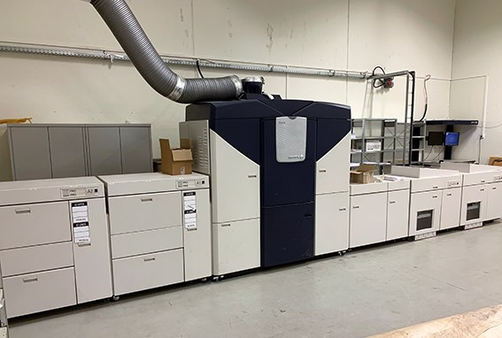 Show details for Xerox iGen4 Press