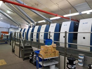 KBA   2007  RAPIDA 105 6 LTTL - CX UV INTERDECK Sheet Fed