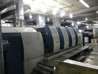 KBA   2004  105 4 P 40 Gebrauchte Bogenoffsetmaschinen