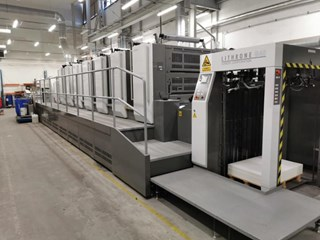 KOMORI   2017  GL 740 C EUV Sheet Fed