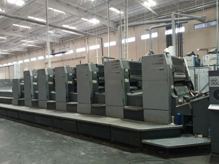 Show details for HEIDELBERG   2002  CD 102 6 LX