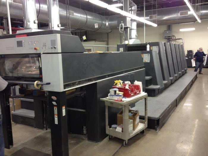 Show details for HEIDELBERG   2003  CD 74 6 LX - F FORMAT