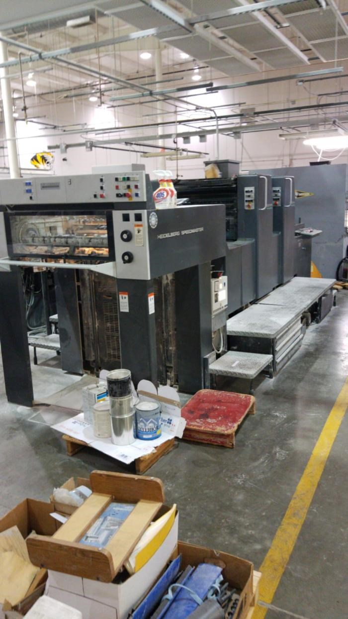 Show details for HEIDELBERG   1994  SM 74-2PH