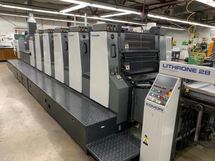 Show details for KOMORI   1999  L 528 CX