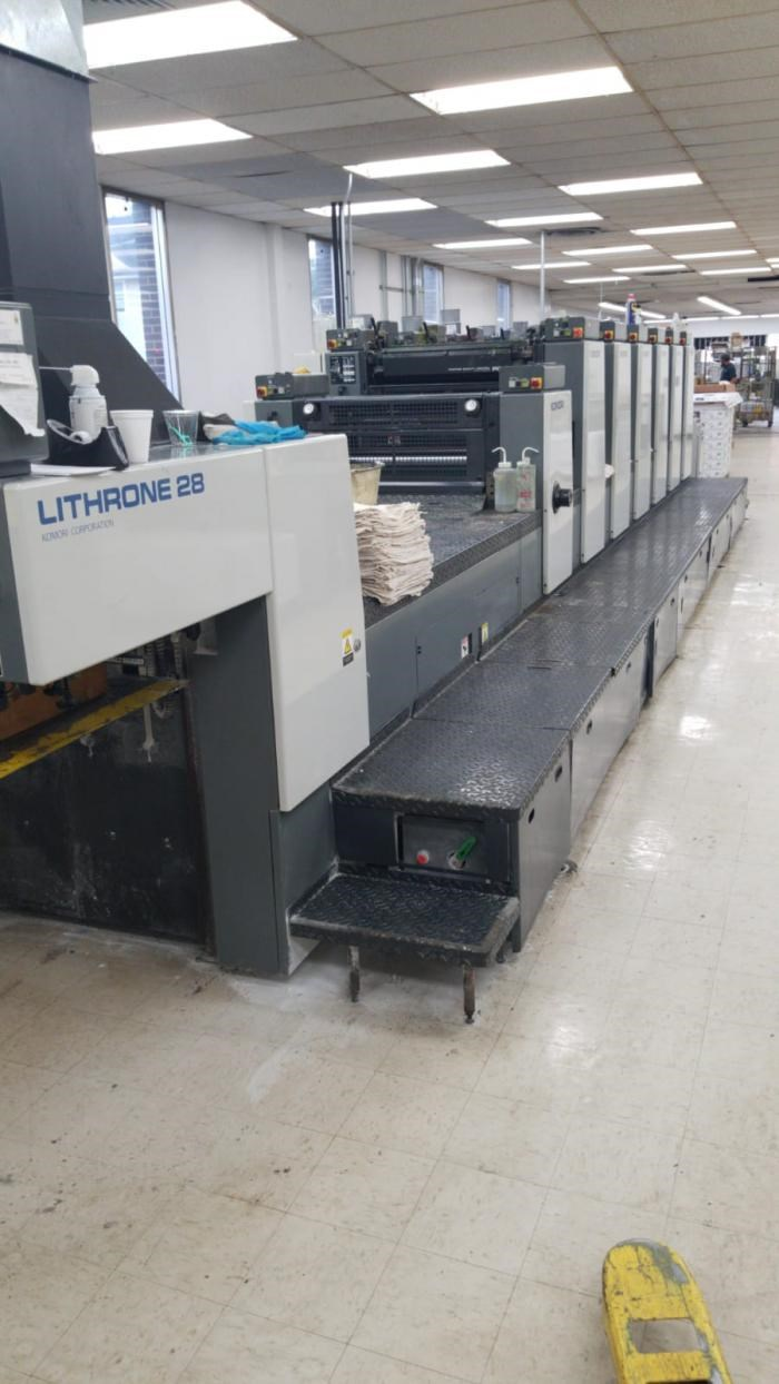 Show details for KOMORI   1997  L628 CX