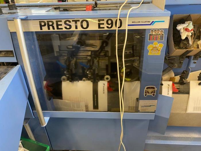 MULLER MARTINI    2010  PRESTO E90