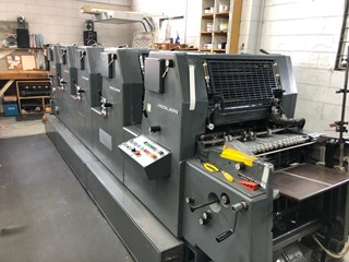 1990 HEIDELBERG GTOFP 52 Sheet Fed