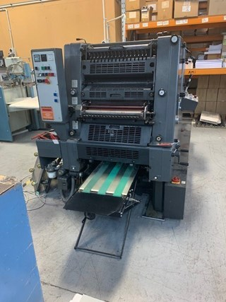 1998 Heidelberg GTO 52 2 Sheet Fed