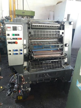 1991 HEIDELBERG GTOZP 52 Sheet Fed