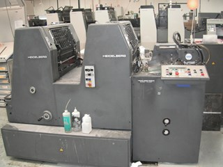 Heidelberg GTOZ S Sheet Fed