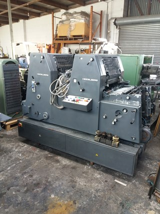 Heidelberg GTOZP 52 Sheet Fed