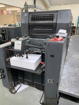 Heidelberg SM 52 5P2 H Sheet Fed
