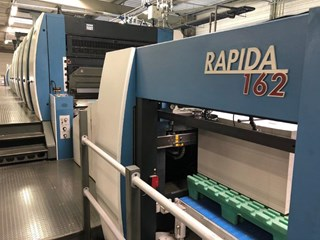 KBA RAPIDA 162A-6+L+T+L CX FAPC ALV3 Gebrauchte Bogenoffsetmaschinen