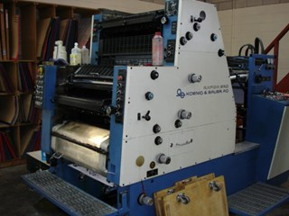 KBA SR0 2K Gebrauchte Bogenoffsetmaschinen