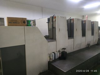Komori A 437 Sheet Fed