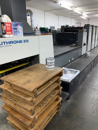 2000 KOMORI LITHRONE L628+C Sheet Fed