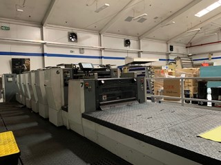 Komori Lithrone LS 626+C UV Sheet Fed