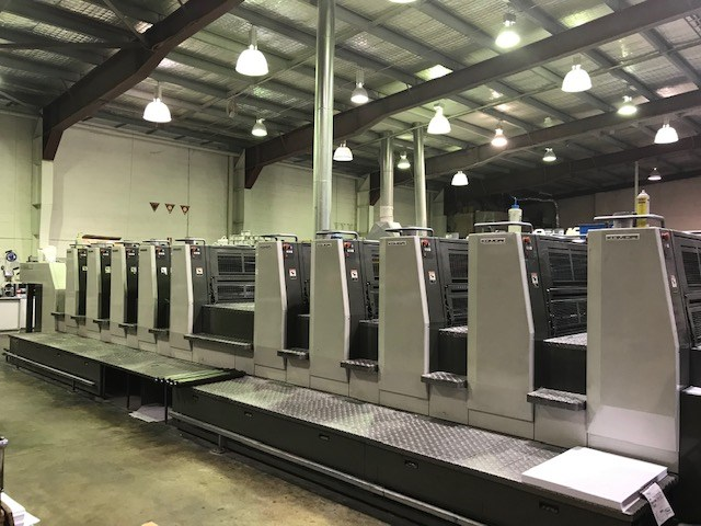Show details for Komori Lithrone L-1026P EH