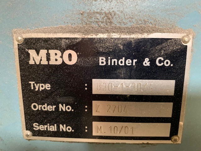 MBO B30 4/4/4 With Gluing