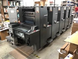 Heidelberg Printmaster PM 52-5 Gebrauchte Bogenoffsetmaschinen